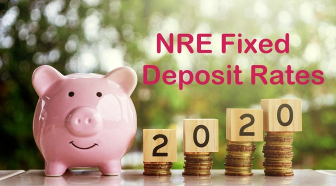 NRE Fixed Deposit rates (November 2020)